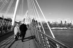 Χειμώνας του Λονδίνου Στοκ εικόνα με δικαίωμα ελεύθερης χρήσης