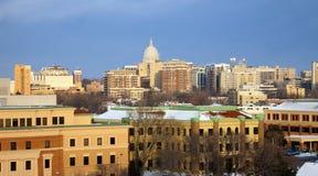 χειμώνας του Μάντισον στοκ φωτογραφίες με δικαίωμα ελεύθερης χρήσης