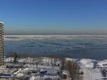 χειμώνας του Οντάριο λιμνών Στοκ Εικόνα