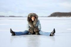 χειμώνας υπολοίπου Στοκ Εικόνες