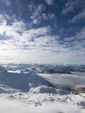 χειμώνας υψηλών βουνών Στοκ φωτογραφία με δικαίωμα ελεύθερης χρήσης