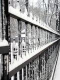 χειμώνας φραγών Στοκ Φωτογραφίες