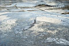 χειμώνας χέρσων περιοχών Στοκ Φωτογραφία