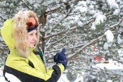 χειμώνας χαμόγελου Στοκ Εικόνες