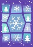 χειμώνας χιονιού ανασκόπη&s ελεύθερη απεικόνιση δικαιώματος