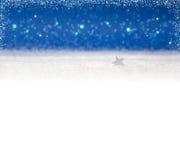 χειμώνας χιονιού διακοπών χαιρετισμού Χριστουγέννων καρτών ανασκόπησης Στοκ φωτογραφίες με δικαίωμα ελεύθερης χρήσης