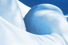 χειμώνας χιονιού κλίσης στοκ φωτογραφία