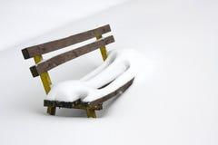 χειμώνας χιονιού πάγκων Στοκ εικόνες με δικαίωμα ελεύθερης χρήσης