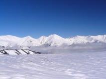 χειμώνας χιονιού σκηνής Στοκ φωτογραφία με δικαίωμα ελεύθερης χρήσης