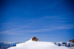 Χειμώνας χιονοδρομικών κέντρων fernie στοκ εικόνες