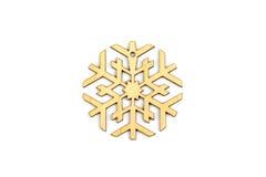 Χειμώνας, Χριστούγεννα, νέα ξύλινη διακόσμηση έτους - snowflake, αστέρι Στοκ Εικόνες