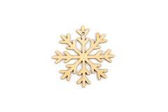 Χειμώνας, Χριστούγεννα, νέα ξύλινη διακόσμηση έτους - snowflake, αστέρι Στοκ φωτογραφίες με δικαίωμα ελεύθερης χρήσης