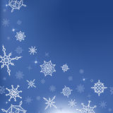 Χειμώνας, Χριστούγεννα, νέο πρότυπο έτους για την κάρτα Στοκ Εικόνες