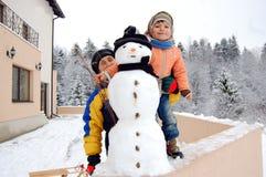 χειμώνας διασκέδασης Στοκ Εικόνες