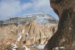 χειμώνας cappadocia Στοκ Εικόνες