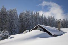 χειμώνας idyl Στοκ εικόνα με δικαίωμα ελεύθερης χρήσης