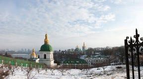 χειμώνας lavra Στοκ εικόνες με δικαίωμα ελεύθερης χρήσης
