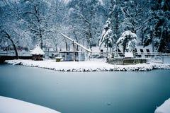 Χειμώνας lendscape Στοκ φωτογραφία με δικαίωμα ελεύθερης χρήσης