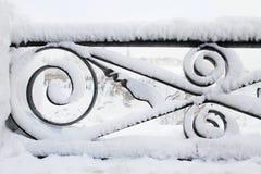 χειμώνας niagara πτώσεων Στοκ Εικόνες