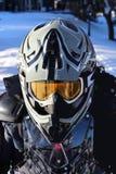 Χειμώνας Quading στο πλήρες εργαλείο Στοκ Φωτογραφίες