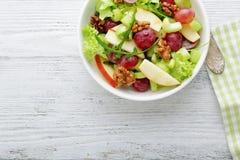 Χειμώνας salald με το μήλο και το σέλινο Στοκ Φωτογραφία