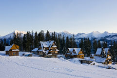 χειμώνας tatra βουνών Στοκ Εικόνες