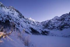 χειμώνας tatra βουνών Στοκ Φωτογραφίες