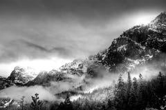 χειμώνας yosemite Στοκ φωτογραφία με δικαίωμα ελεύθερης χρήσης