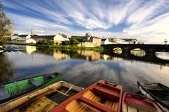 Χειραμάξιο ποταμών Στοκ Εικόνες