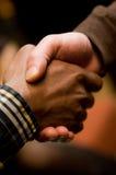 χειραψία ποικιλομορφία&sig Στοκ Φωτογραφία