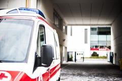Χειριστής έκτακτης ανάγκης στη δράση Στοκ φωτογραφία με δικαίωμα ελεύθερης χρήσης