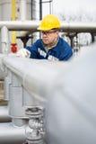 Χειριστής παραγωγής αερίου στοκ εικόνα με δικαίωμα ελεύθερης χρήσης