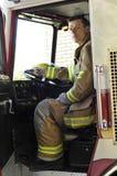 χειριστής πυρκαγιάς εξο στοκ φωτογραφία