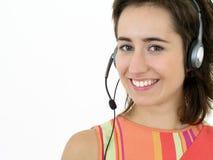 χειριστής τηλεφωνικών κέν&ta Στοκ εικόνες με δικαίωμα ελεύθερης χρήσης