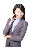 Χειριστής υποστήριξης πελατών γυναικών στοκ φωτογραφίες με δικαίωμα ελεύθερης χρήσης
