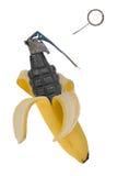 χειροβομβίδα μπανανών Στοκ Εικόνα