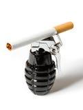 χειροβομβίδα τσιγάρων Στοκ φωτογραφίες με δικαίωμα ελεύθερης χρήσης