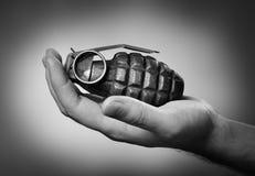 χειροβομβίδα Στοκ φωτογραφίες με δικαίωμα ελεύθερης χρήσης