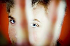 χειρονομία που κάνει τη στάση ατόμων Στοκ Φωτογραφία
