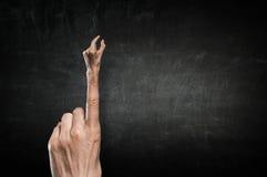 Χειρονομία συμπλεκτών δάχτυλων Στοκ φωτογραφία με δικαίωμα ελεύθερης χρήσης