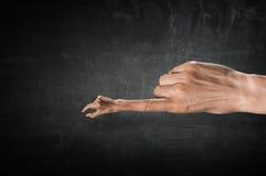 Χειρονομία συμπλεκτών δάχτυλων Στοκ Εικόνες