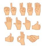 Χειρονομία χεριών ελεύθερη απεικόνιση δικαιώματος