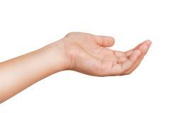 Χειρονομίες των χεριών των παιδιών στοκ εικόνες