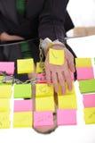 χειροπέδες απάτης Στοκ φωτογραφία με δικαίωμα ελεύθερης χρήσης