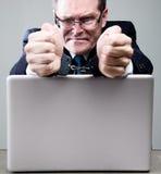 χειροπέδες επιχειρηματ& Στοκ φωτογραφίες με δικαίωμα ελεύθερης χρήσης