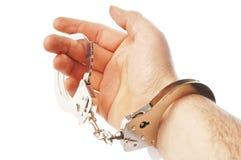 χειροπέδες στοκ φωτογραφίες με δικαίωμα ελεύθερης χρήσης