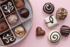 Χειροποίητα γλυκά καραμελών σοκολάτας στοκ εικόνα με δικαίωμα ελεύθερης χρήσης
