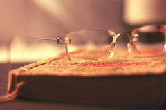 Χειροποίητα γυαλιά Στοκ φωτογραφίες με δικαίωμα ελεύθερης χρήσης