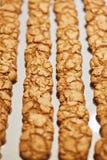 Χειροποίητα μικρά μπισκότα Πίνακας συμποσίου catering στοκ φωτογραφία