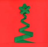 Χριστουγεννιάτικο δέντρο και δώρο Στοκ εικόνα με δικαίωμα ελεύθερης χρήσης